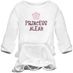 Princess Aleah Sleep Onesie