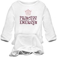 Princess Emersyn Sleep Onesie