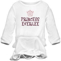 Princess Everlee Sleep Onesie