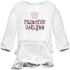 Princess Oaklynn Sleep Onesie