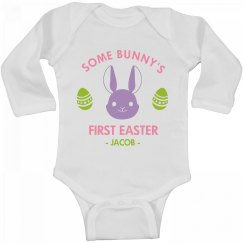 Some Bunny's First Easter Jacob