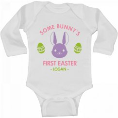 Some Bunny's First Easter Logan
