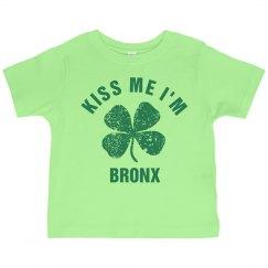Kiss Me I'm BRONX Irish Kid