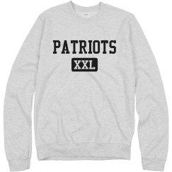 Comfy Patriots Mascot XXL