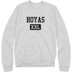 Comfy Hoyas Mascot XXL