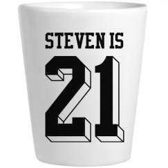 21st Birthday Steven Is 21