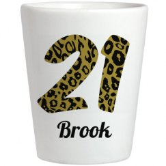 Cheetah 21st Birthday Girl Brook