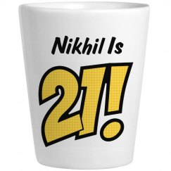 Nikhil Is 21 Birthday Gift