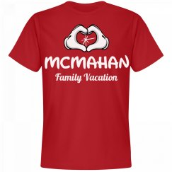 Matching McMahan Family Vacation