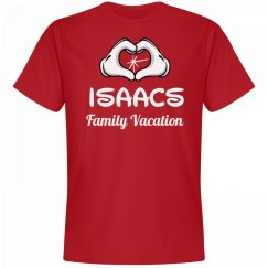 Matching Isaacs Family Vacation