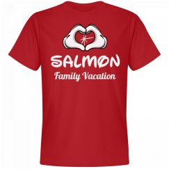 Matching Salmon Family Vacation