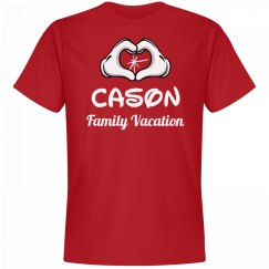 Matching Cason Family Vacation