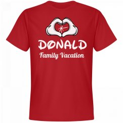 Matching Donald Family Vacation