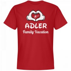 Matching Adler Family Vacation