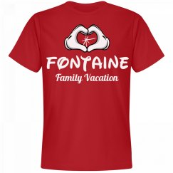 Matching Fontaine Family Vacation