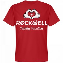 Matching Rockwell Family Vacation