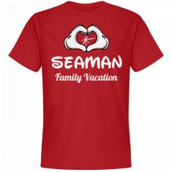 Matching Seaman Family Vacation
