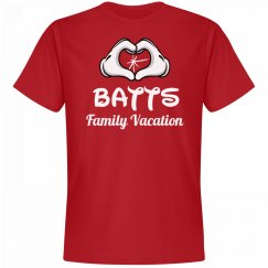 Matching Batts Family Vacation