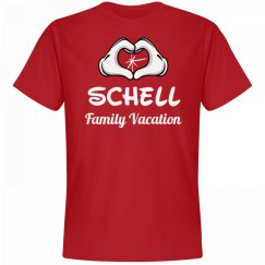 Matching Schell Family Vacation