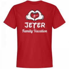 Matching Jeter Family Vacation