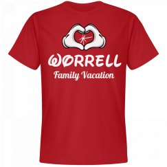 Matching Worrell Family Vacation