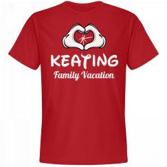 Matching Keating Family Vacation