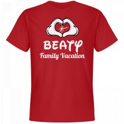 Matching Beaty Family Vacation