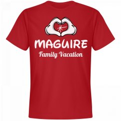 Matching Maguire Family Vacation