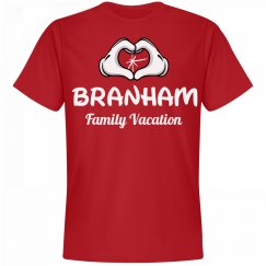 Matching Branham Family Vacation
