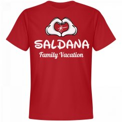 Matching Saldana Family Vacation