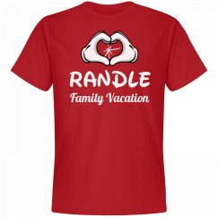 Matching Randle Family Vacation