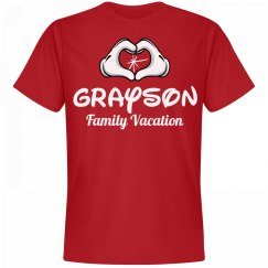 Matching Grayson Family Vacation