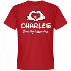 Matching Charles Family Vacation