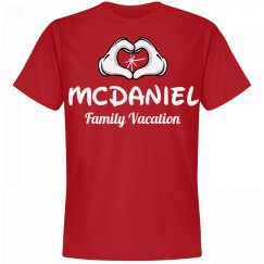 Matching McDaniel Family Vacation