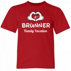 Brunner Kids Family Vacation Tee