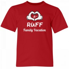 Ruff Kids Family Vacation Tee