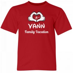 Vann Kids Family Vacation Tee