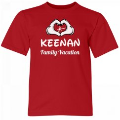 Keenan Kids Family Vacation Tee