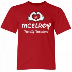 McElroy Kids Family Vacation Tee