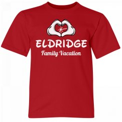 Eldridge Kids Family Vacation Tee