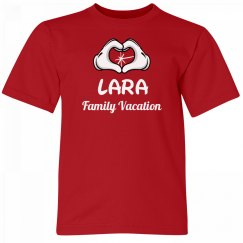 Lara Kids Family Vacation Tee