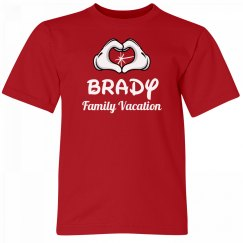 Brady Kids Family Vacation Tee