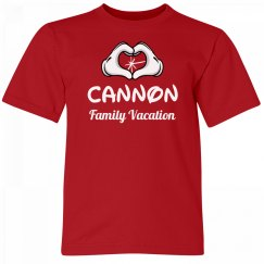 Cannon Kids Family Vacation Tee
