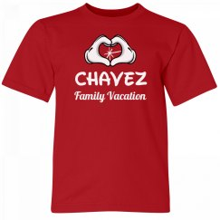 Chavez Kids Family Vacation Tee