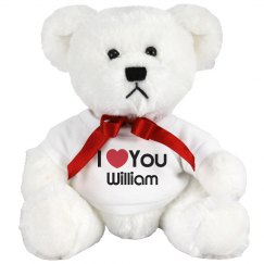 I Heart You William Love