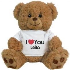 I Heart You Leila Love