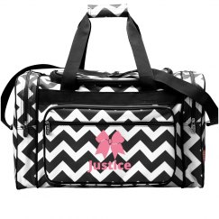 Cheer Girl Bow Justice Bag