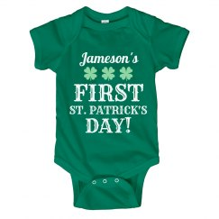 Jameson's First St. Pattys Day