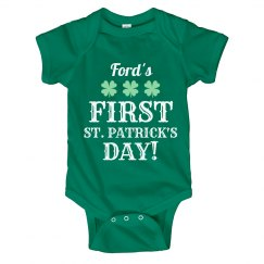 Ford's First St. Pattys Day