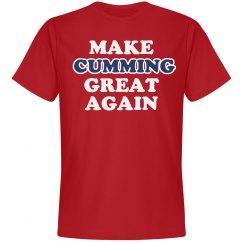 Make Cumming Great Again